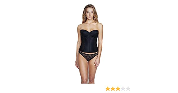 1e679a62803f9 Dominique Satin And Lace Torsolette at Amazon Women s Clothing store