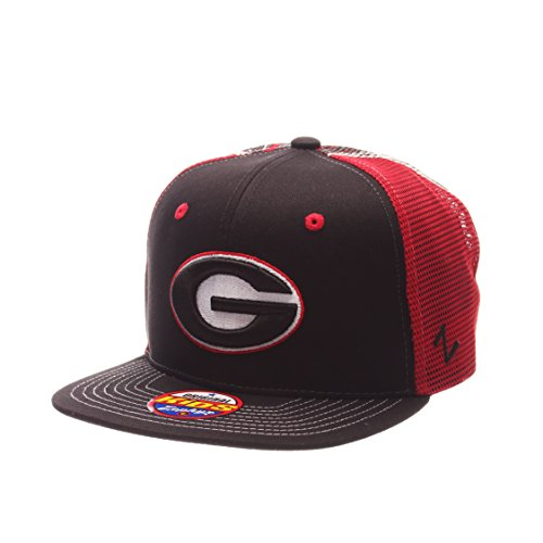 NCAA Georgia Bulldogs Children Boys Screenplay Youth Snapback Hat,Adjustable,black