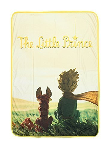 Paramount The Little Prince and the Fox Fleece Throw
