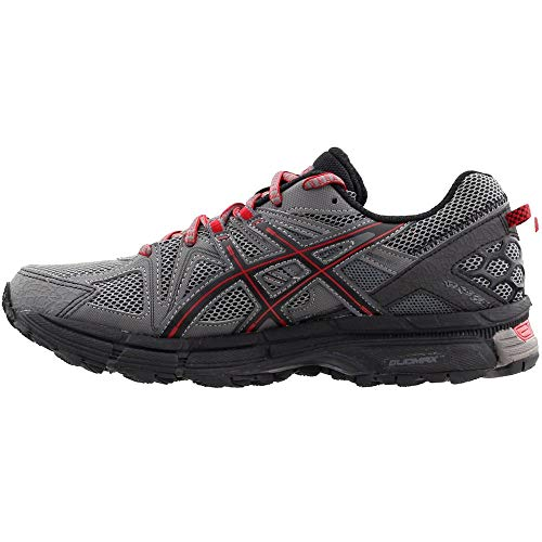 ASICS Men's Gel-Kahana 8 Trail Runner Shark/Black/True Red 7 M US by ASICS (Image #3)
