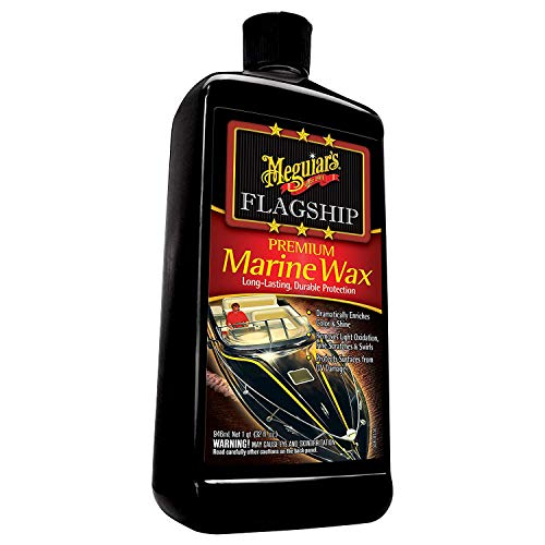 MEGUIAR'S M6332 Flagship Premium Marine Wax, 32. Fluid_Ounces