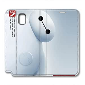 iCustomonline Leather Case for Samsung galaxy Note 3, Baymax Ultimate Protection Leather Case for Samsung galaxy Note 3
