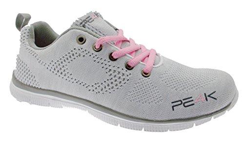 Pe4k L10-s306a Sneaker Plantilla Gris Blanco Memory Form 41 Blanco