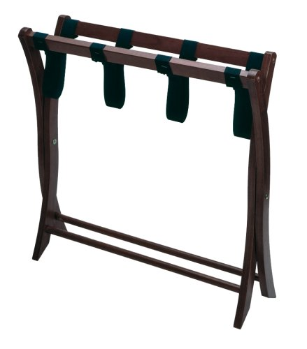 Winsome Wood Luggage Rack, Espresso