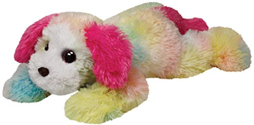 Ty Classic Yodeler Rainbow Dog Medium Plush (Dog Beanie Plush)