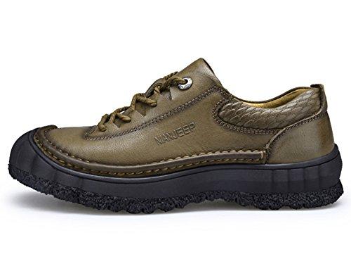 JEEP Hommes Chaussures de MAN Occasionnels en Vache Cuir O65w0