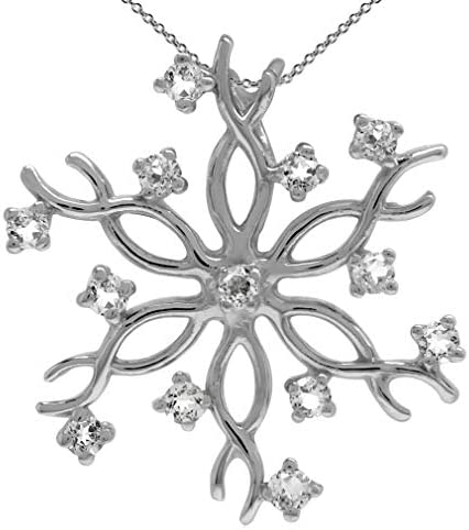 Snakeskin Agate Round Snowflake Pendant with Silver Alloy Setting and Necklace Item 596
