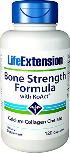 - Life Extension Bone Strength Formula with Koact 120 Vegetarian Capsules