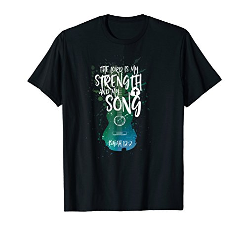 Christian Music Guitar T Shirt Church Band Love God -