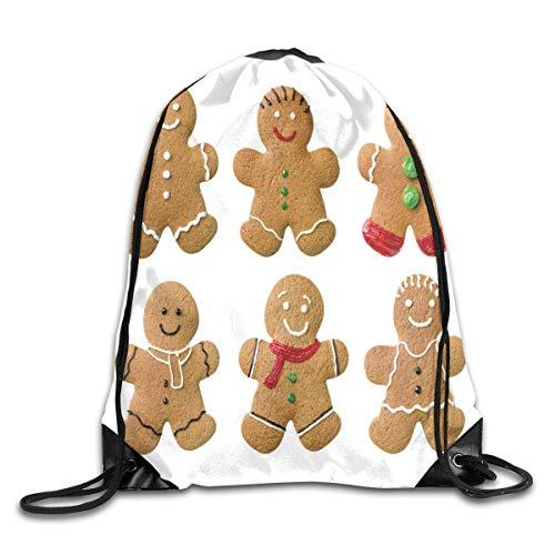 2019 Funny Drawstring Backpacks Bags Daypacks,Vivid Homemade Biscuits