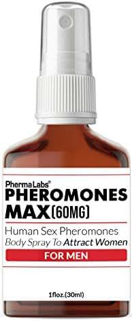 ATTRACT WOMEN Human Pheromone! Body Spray 60mg (Pheromones MAX) Most Potent Formula - male LIBIDO