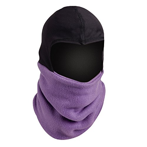 Turtle Fur Shellaclava One Piece Balaclava Orig Fleece Neck Warmer Iris (Neck Fur Warmer Turtle)