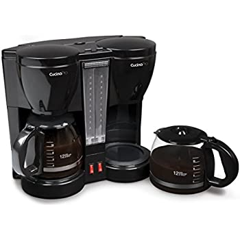 Amazon Com Cucinapro Double Coffee Brewer Station Dual
