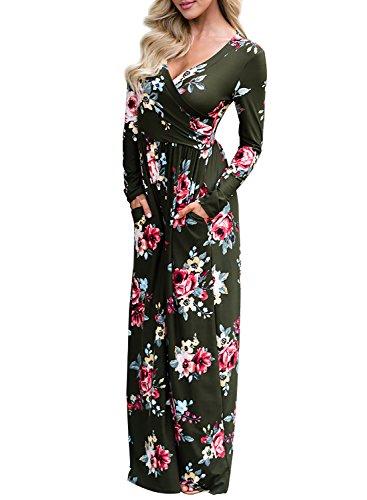 V-Neck Empire Waist Dress - 9