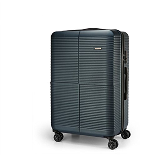 Suitcase by City Traveler - Lightweight, Anti-scratch Luggage - Durable ABS Material, 360 Spinner Wheel, and TSA (28