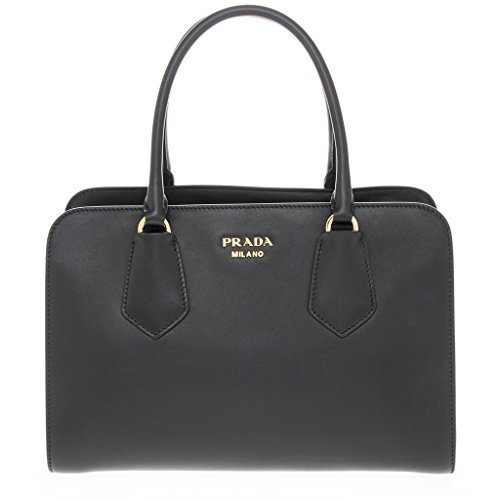 Prada-Womens-Womens-Bicolor-City-calfskin-Satchel-bag-Black-Nude-Black-Beige