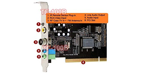 Universal TV FM Tuner Card + DVR Video Capture Card NTSC PAL B/G D/K M/N - Dvr Card Vista Pci