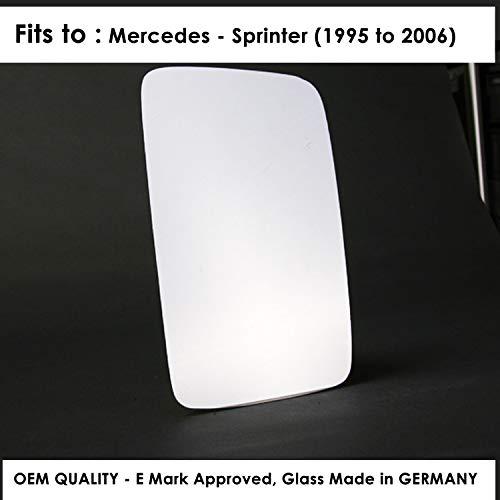 REScenic 2004 to 2008 Silver Door Mirror s LH Passenger Side