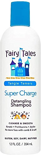 Fairy Tales Super-Charge Detangling Shampoo 12 oz (Pack of 10) by Fairy Tales