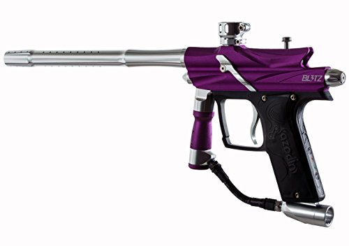 Azodin Blitz 3 (Purple) (Best Speedball Gun For Beginners)