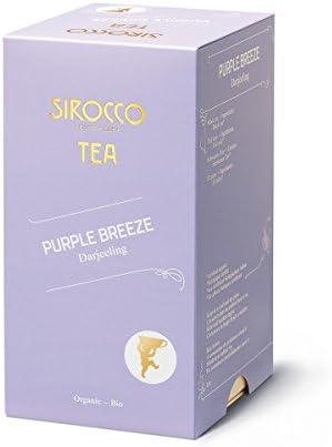 (SIROCCO TEA - Purple Breeze - 20 tea bags) パープルブリーズ- 20ティーバッグ(オーガニックダージリン) - 並行輸入品 [並行輸入品]