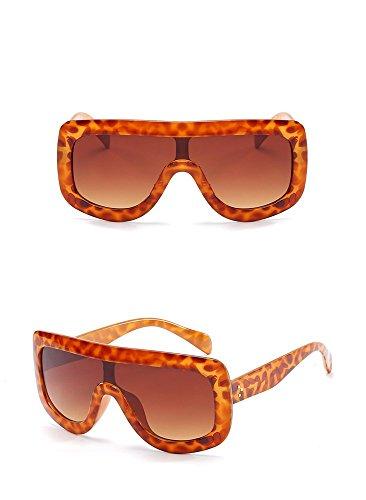 Moda Mujeres Gafas de Gafas Gafas la Las la de de de Sol de Personalidad Caja Sol la Moda la de de C F Grandes sol Siamés RFVBNM de 4dwqxH66