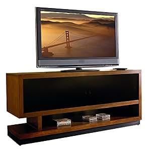 martin furniture gravity tv stand 70 inch caramel finish fully assembled. Black Bedroom Furniture Sets. Home Design Ideas