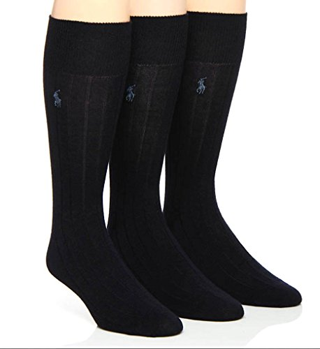 rino Wool Dress Socks - 3 Pack (8082PK) O/S/Navy ()