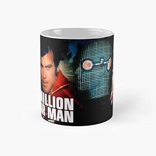 Six Million Dollar Man Mug, bionic Funny Mugs,