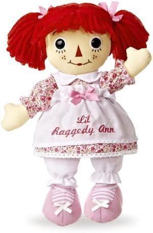 Amazon Com Aurora World World Lil Raggedy Ann 12 Doll Friendship Toys Games