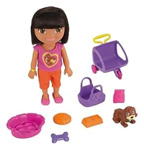 Dora la Exploradora - Muñeca Dora con accesorios (Mattel Y4378)