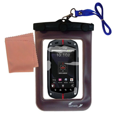 Gomadicアウトドア防水携帯ケースSuitable for the Casio GzOne Commandoに使用Underwater – keepsデバイスClean and Dry   B007TVVVIS