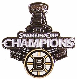 Boston Bruins 2011 Stanley Cup Champions Pin #1
