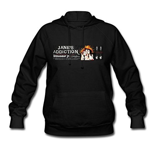 WOG fashion women' Jane's Addiction tour women's Hoodie Sweatshirt designcolor -
