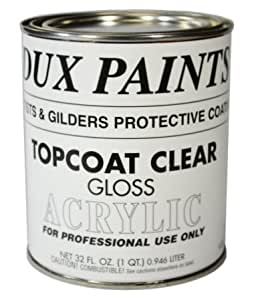 DUX Gilder's Clear Acrylic Topcoat Gloss Quart