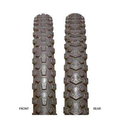 Serfas Survivor Gator MTB Front Tire with FPS, 26 X 2.0-Inch