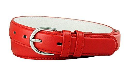 "Hagora Men/'s Braid Rows Design Stretchy Leather Element 1-1//4/"" Wide Buckle Belt"