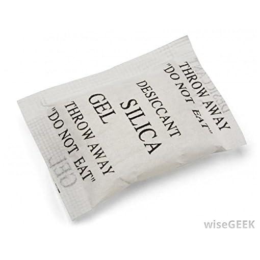 Silica Gel Dessicant Dehumidifier 5 Gram Pouch 80 Pcs Pack