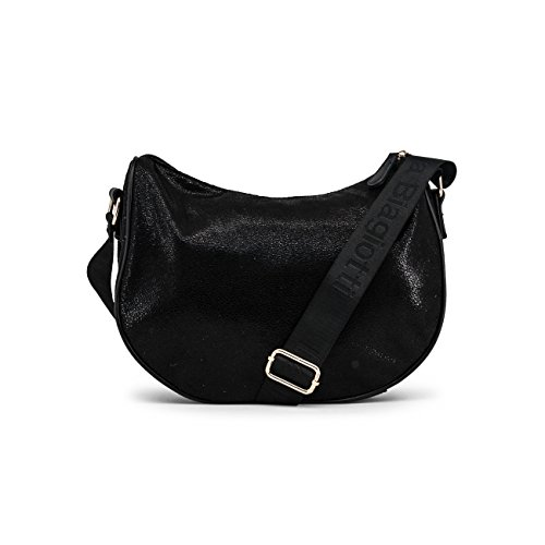 Crossbody Genuine Biagiotti Black Bag Designer Body Bag Women Cross Laura Women wHfBzB