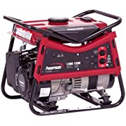 Powermate PC0101207, 1200 Running Watts/1500 Starting Watts, Gas Powered Portable Generator