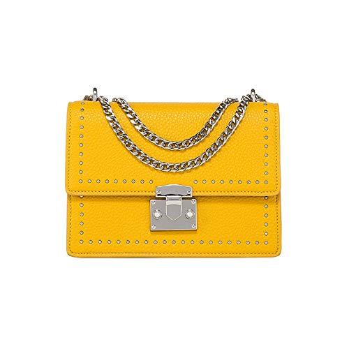 Bingo Point Bag Female 2018 Chain Female Bag Korean Version of The Shoulder Messenger Bag Lock Small Square Bag