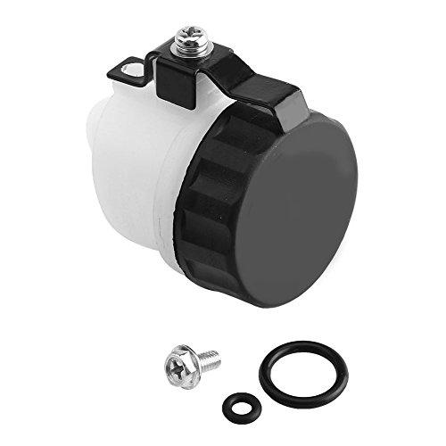 Clutch Reservoir, Clutch Master Cylinder Oil Reservoir Fluid Bottle for VTR1000F 98-04 CBR1000RR 04-07:
