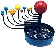 TOYANDONA Modelo de sistema solar de ciências, modelo de ensino planetário, brinquedo educativo, modelo de apr