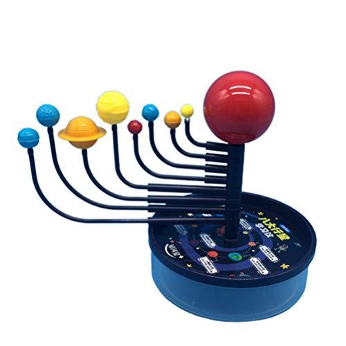 NUOBESTY Solar System Model The Nine Planets Planetarium Learning Model for Pupils Kids Child