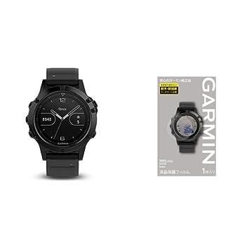 Sportuhr Garmin fenix 5 Plus Glass Silver/Black NEU