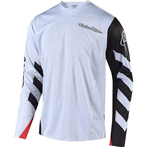 Troy Lee Designs Sprint Elite Long-Sleeve Jersey - Men's Escape White/Black XXL [並行輸入品]   B07QM5PJ2X