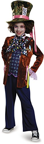 MAD Hatter Deluxe Alice Through The Looking Glass Movie Disney Costume, - Amazon Johnny Glasses Depp