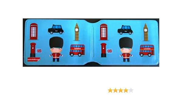 London Icons- Tarjetero, diseño de Londres