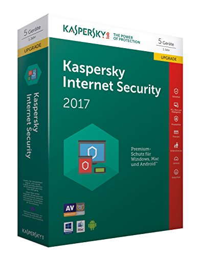 Kaspersky Internet Security 2017 5 Geräte Upgrade - [Online Code]