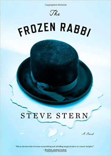 Front cover for the book The Frozen Rabbi by Steve Stern